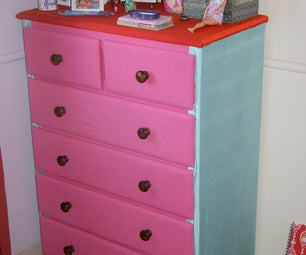 Chest of Drawers -refacement