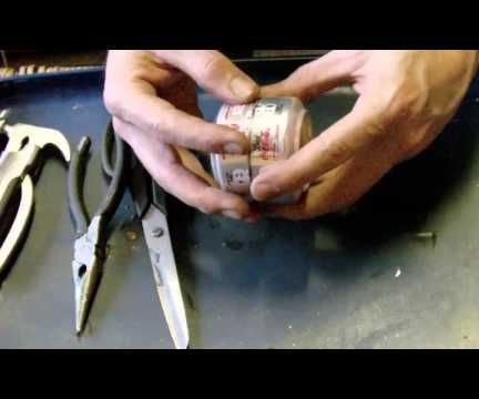 DIY Penny Stove - Camping stove from drinks cans