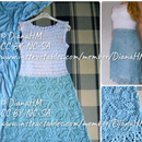 Crochet a Dress With A-Line Motifs Skirt