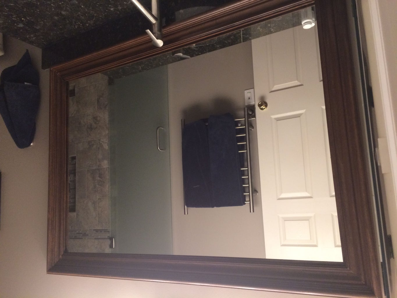 Install the Mirror Frame