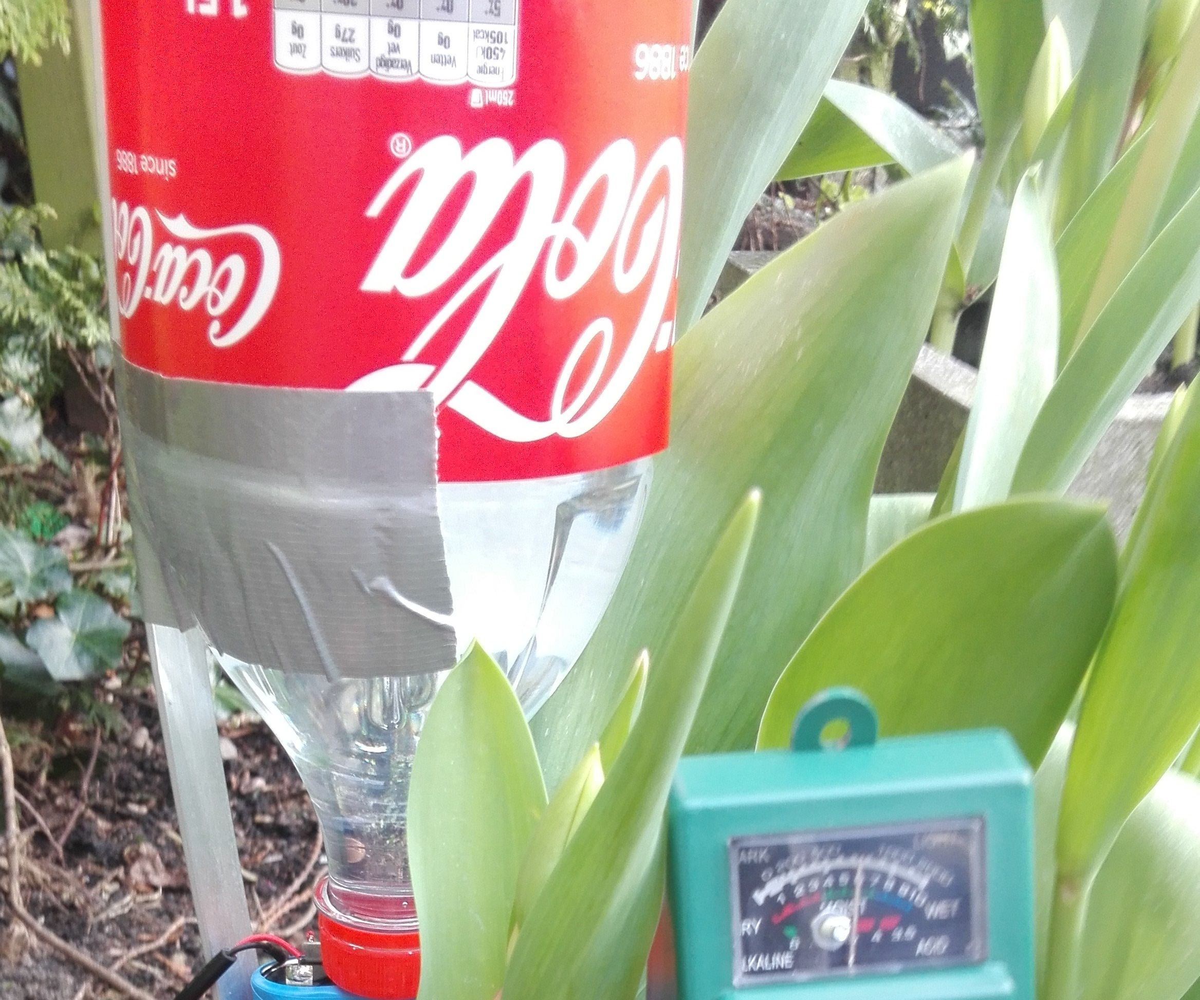 Automatic electronic plant waterer