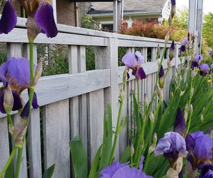 Half Recycled Vintage Fence Strategy