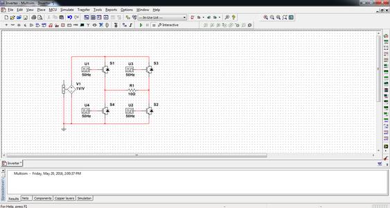 Modify the Multisim Simulation