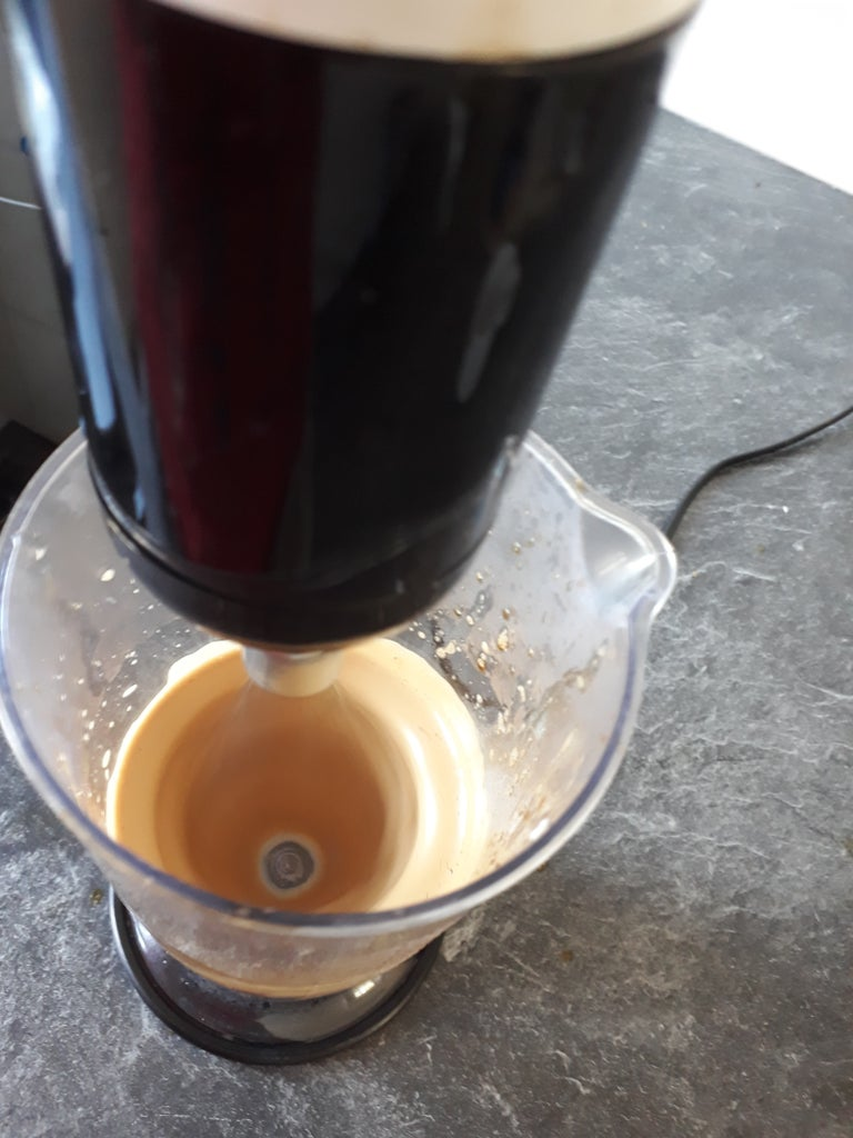 Foam the Coffee