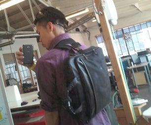 Hybrid Strap Messenger Bag - Made @TechShop!