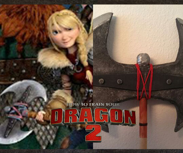 Cosplay Axe - Astrid Httyd 2