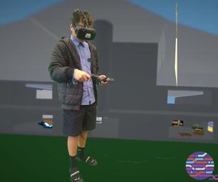 Virtual Reality Worlds in Tilt Brush VR