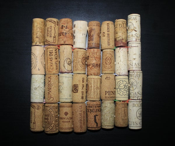 Kitchen Trivet (Hot Metal Pad) From Cork Wine Covers