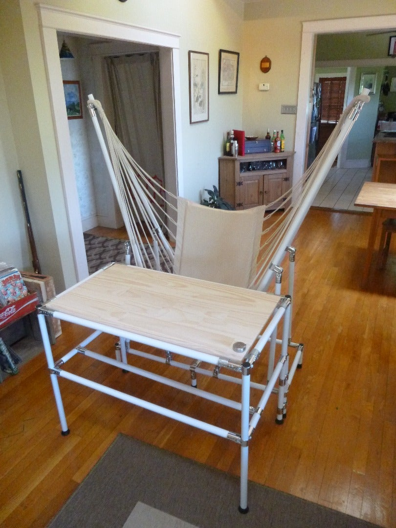 Attach the 2 Sections, and Hang Your Hammock Chair
