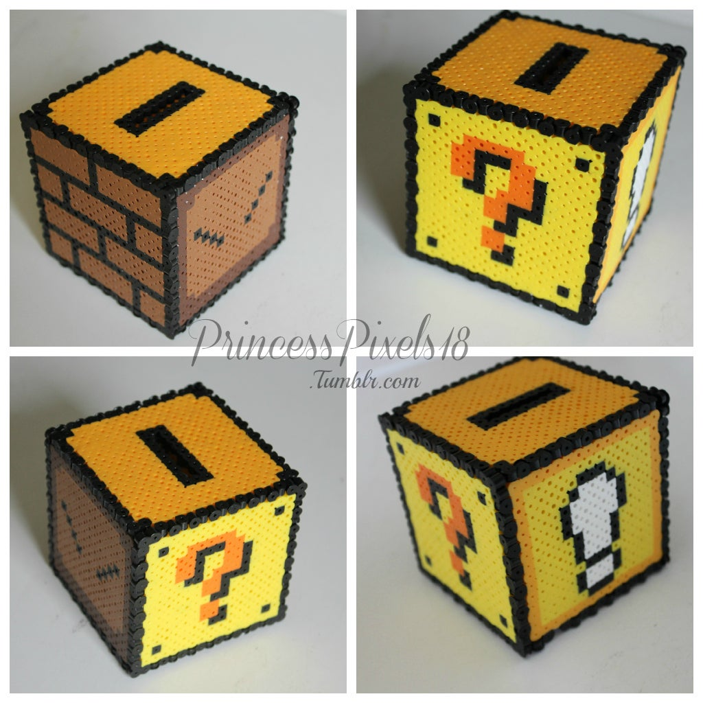 How to Make a 3D Mario Coin Box! : 4 Steps (with Pictures) - InstructablesInstructables