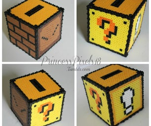 How to Make a 3D Mario Coin Box!