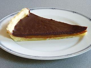 Chocolate/caramel pie