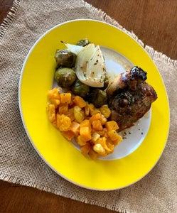 Dijon Chicken One Pan Meal-prep Dinner