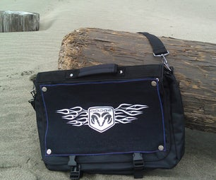 Messenger Bag With Interchangeable Skins