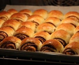 The Best Nutella and Lotus Rolls