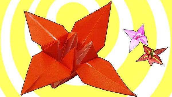 Origami Flower - Video Turorial