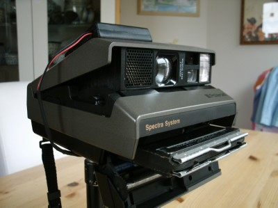 Modify Your Polaroid Spectra Camera to use Non-Polaroid Film
