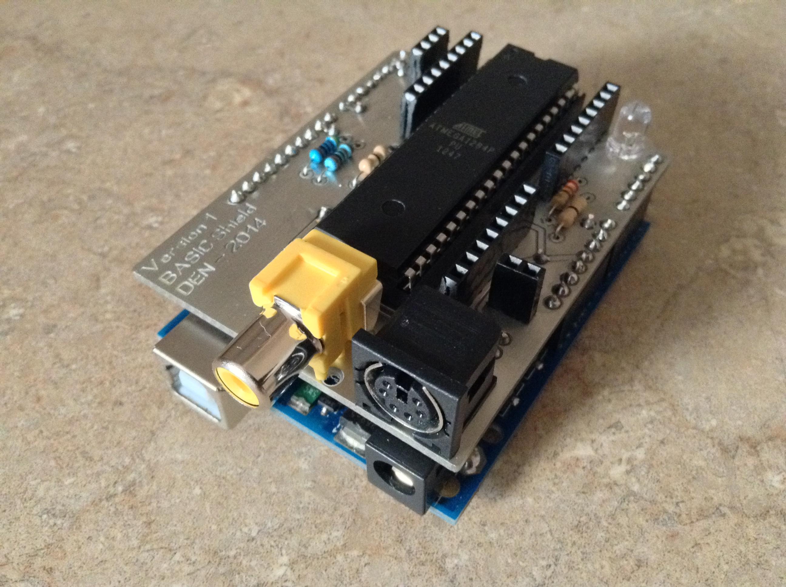 Arduino BASIC Shield