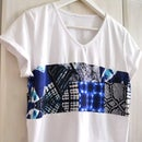 Pinterest Inspired Upcycling T-Shirt