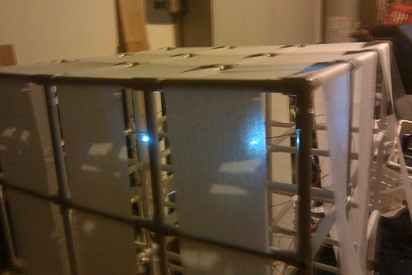 3x3x3 LED PVC Light Cube