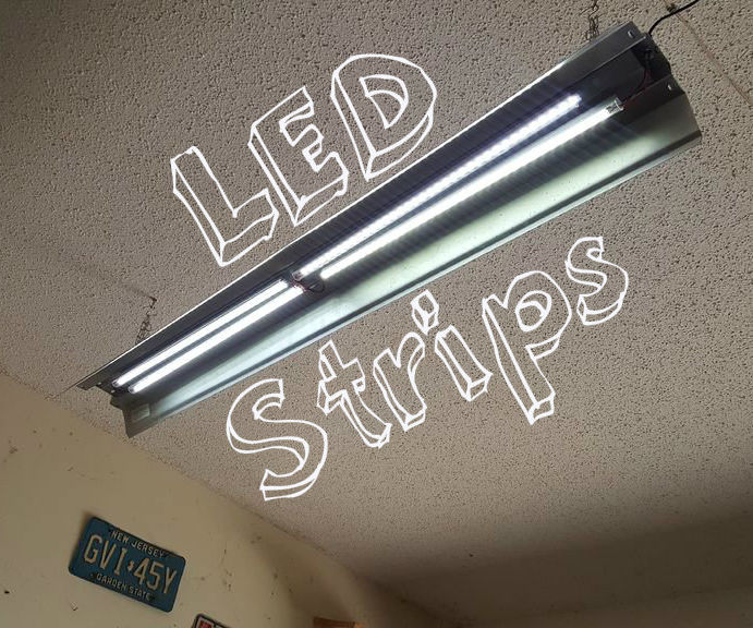 Reuse LED Strips in Fluorescent Fixture
