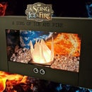 Mini Fireplace of a Song of Ice and Fire Theme
