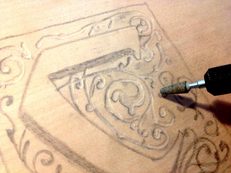 Carve the Logo