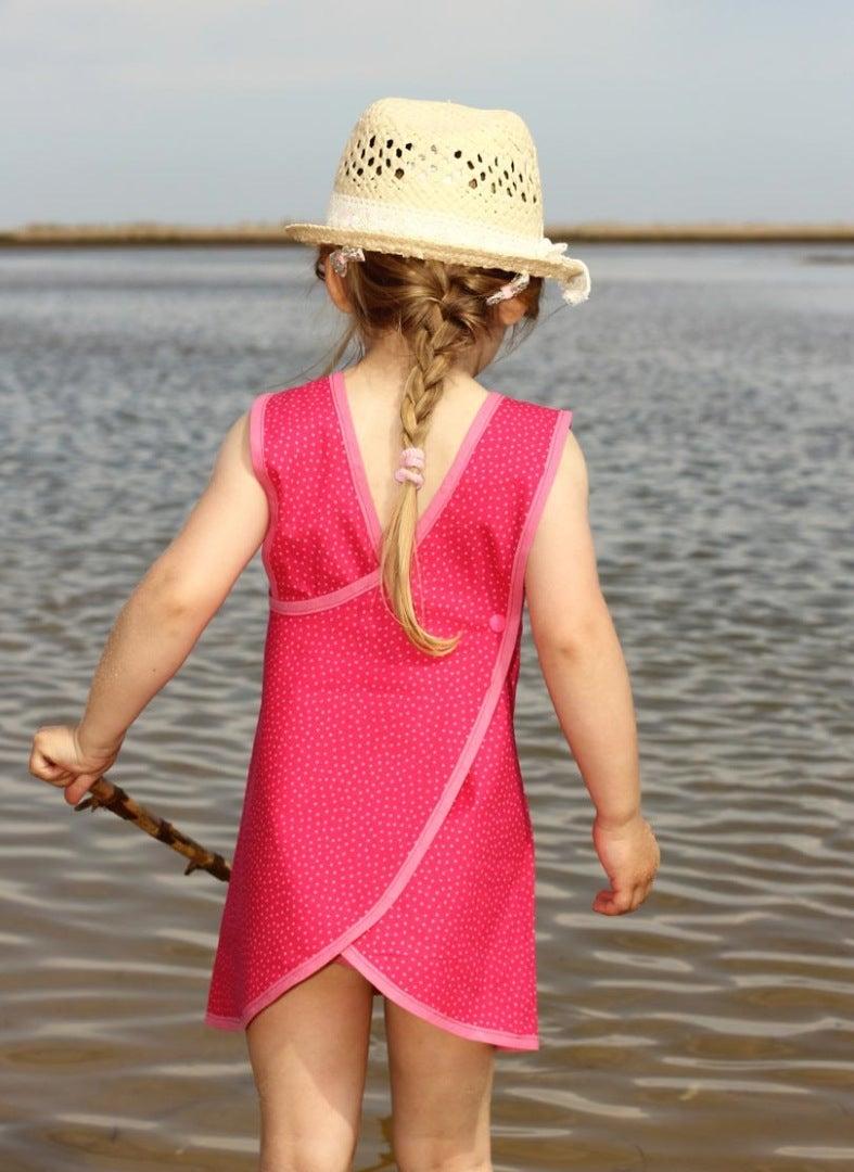 FLORAs Cute Summer Dress Pattern - One of Our BESTSELLERS! FREE Video Tutorial