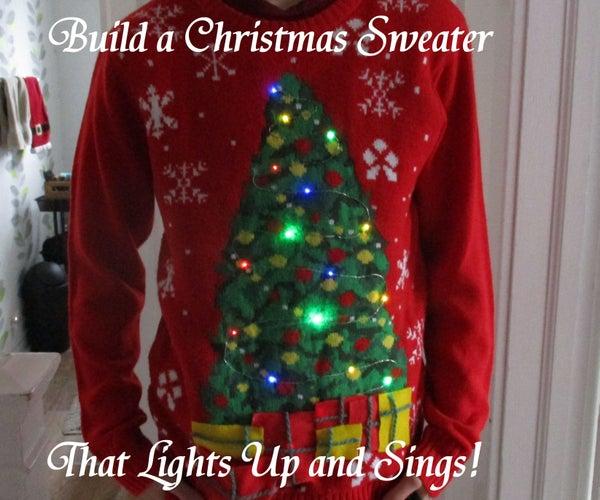 Singing Light Up Christmas Sweater!
