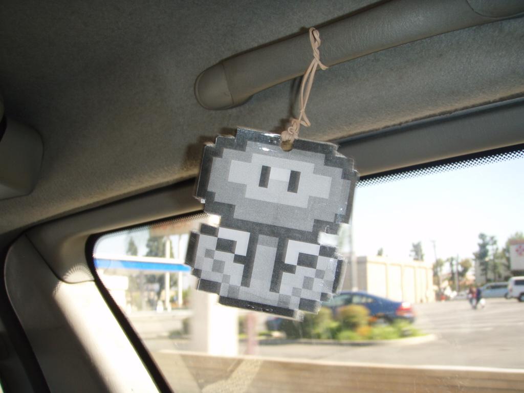 Crafty Homemade Car Air Freshener