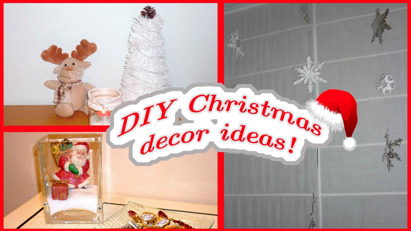 DIY Christmas decor! Easy&affordable ideas!