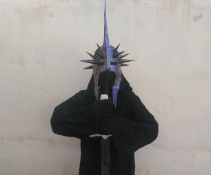 Easy LOTR Witch King Costume From Scratch