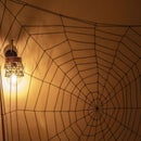 How to Make a Easy Dismountable Spider  Web - Halloween Decorations DIY