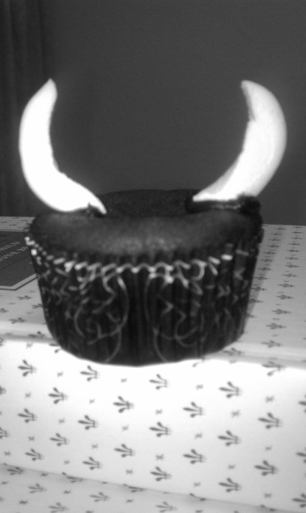 Devilish Black Bean Chocolate Cupcakes