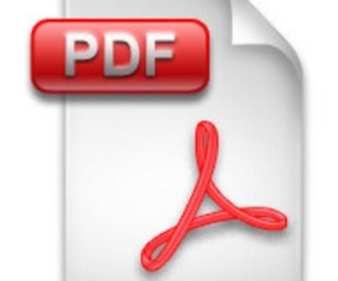 Create a PDF (2009)