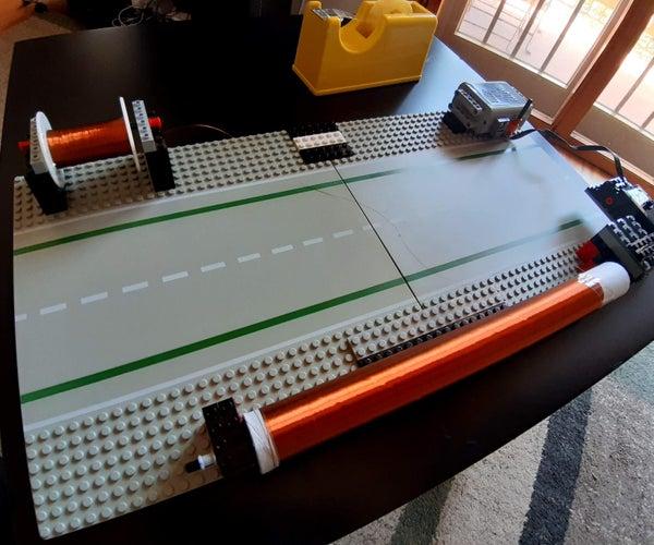 LEGO Tesla Coil Winder