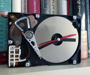 简易硬盘驱动器时钟