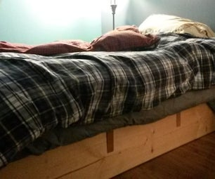 Simple Bed Frame W/o Hardware
