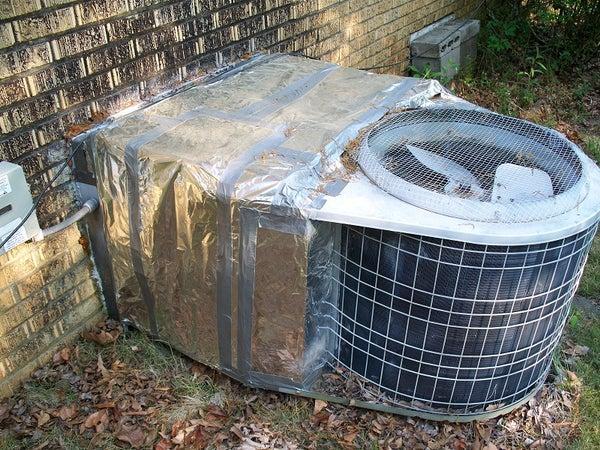 Insulate Your Outdoor Heatpump