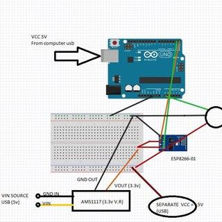 A Newbie's Guide to Setup ESP8266 With Arduino Mega 2560 or Uno