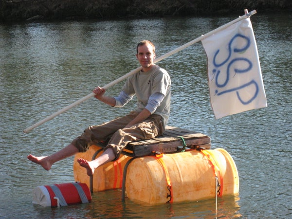 How to Build a Boat Made of Trash & Recyclables!