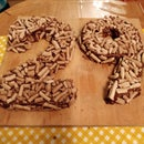 Number Cake Meringue / Chocolate Mousse