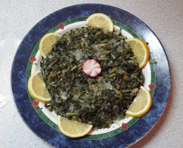 Dandelion Greens Side Dish