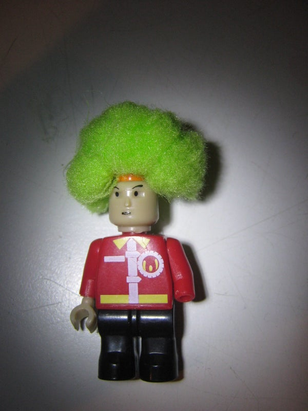 Lego Character Afro Wig