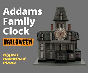 Addams Family Clock