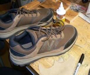 Patching Holes in Sneaker Toes