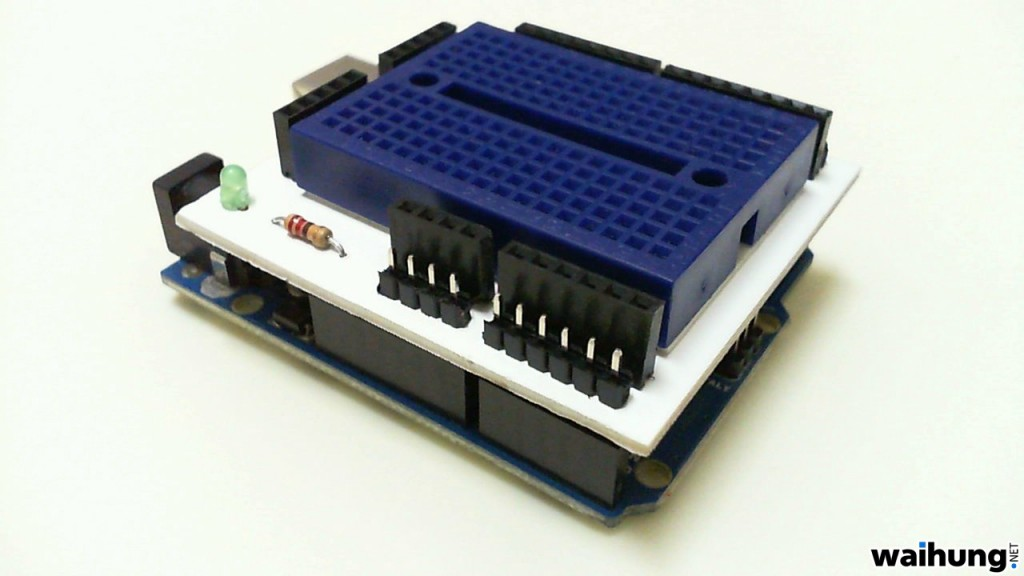 Home Made Arduino Prototype Shield