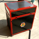 Homemade Inverter Battery Trolley