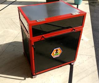 Homemade Inverter Battery Trolley