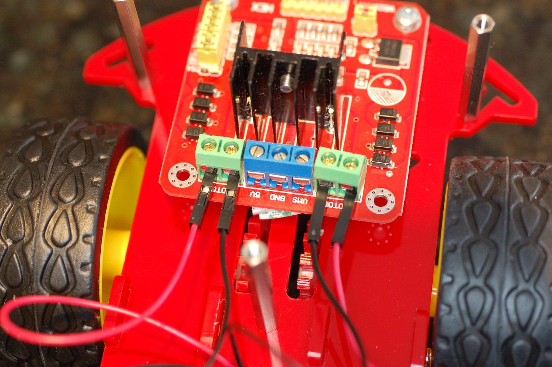 Attach Motor Wires